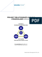 Project Relationships and the Stakeholder Circle SHM - Web