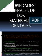 Biomateriales Propiedades