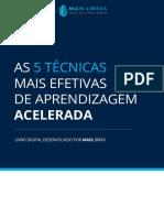 MAIS LIBRAS - AS 5 TÉCNICAS DE APRENDIZAGEM ACELARADA.pdf
