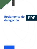 ReglamentoDeDelegacion