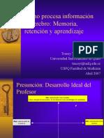Cerebro, Memoria y Retencion MEDICINA (2) (1)