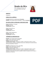 Rosangela Mendes Da Silva