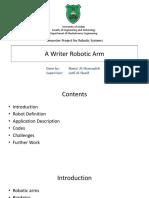 robotics and machinee learning
