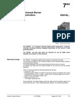 RWF40 Technical Literature