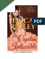 Erica Ridley -Duques de Guerra 03-El Capitán Intocable