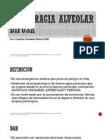 Hemorragia Alveolar Difusa Final