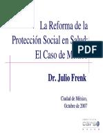 Financiamiento Salud Mexico
