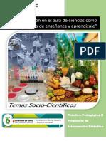 Propuesta Didáctica Temas Sociocientificos