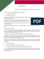 Ejemplo 2 - Iniciativa Empresarial - Súbete a La Bici
