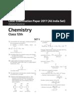 Chemistry paper 2017