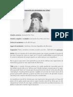Biografía de Leonardo Da Vinci 2