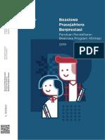 Booklet Beasiswa Prasejahtera Berprestasi Tahun 2019