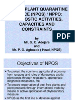 Nigeria Plant Quaratine Service