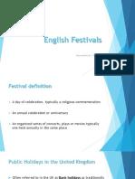 English Festivals
