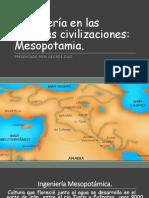 Ingeniería en Las Antiguas Civilizaciones; Mesopotamia