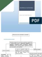 Cuadro Conceptual. Desarrollo y Sustentabilidad.