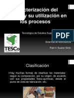 Caracterizacindelmaterialysuutilizacinenlosprocesos 150707223138 Lva1 App6892