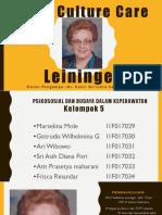 Teori Culture Care Leininger Psikobudayakep_revisi