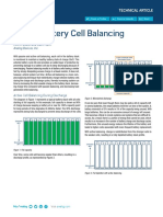 Active balancing cell