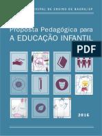 Proposta pedagógica da Educação Infantil do Sistema Municipal de Ensino de Bauru/SP