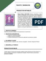 Guía Productos Notables