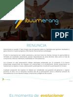 ibüümerang Presentation SPANISH 5-1-19 compressed