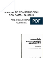 MANUAL DE CONSTRUCCION CON BAMBU GUADUA