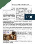 ORIGEN Y EVOLUCION DEL ESPAÑOL.docx