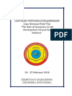 LPJ HMGI - Field Trip Cepu 2018