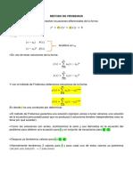 Exposición del metodo de Frobenius.docx