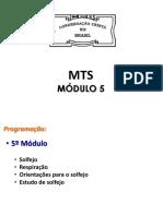 CCB_Música - MTS - Módulo 5 - Aulas