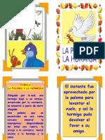 Fabula La Paloma y La Hormiga2