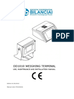Manual indicador Bilanciai DD10