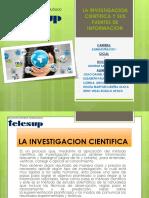 La Investigacion Cientifica y Sus Fuentes de Informacion