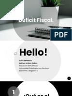Deficit Fiscal
