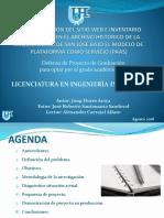 Defensa de tesis, licenciatura informatica