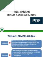 MD 2 - Pengurangan Stigma Dan Diskriminasi