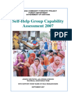Self-Help Group Capability Assessment Study