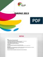 Tarifas Glp Digital 2013