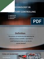 Inventory Controlling Presentation (M. Nadeem Shaikh)