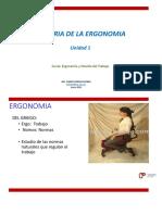 Historia Ergonomia y ET