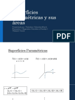 Superficies Paramétricas y Sus Áreas