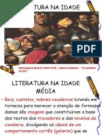 A Literatura Na Idade Média e o Humanismo