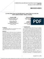 3-d Fem Stress Analysis and Mechanical Characteristics in Bolted