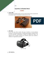 Dispositivos de Realidad Virtual .docx