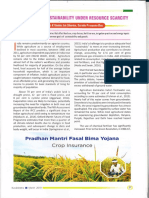 Kurukshetra Agricultural Sustainability Under Resource Scarcity 06-04-2019