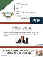 Ley de Contador