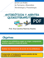 Antibióticos y Agentes Quimioterapéutico