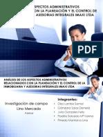 Analisis de los aspectos administrativos