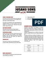 Thousand Sons v9.5